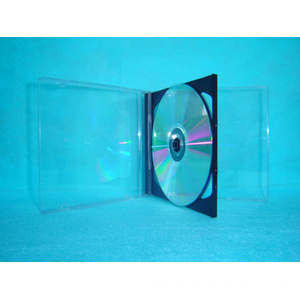 CD Cover CD Box CD case 10.4mm double with black tray(YP-B202b)