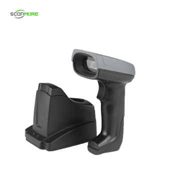 Wireless Handheld 2D image scanner with memory stock