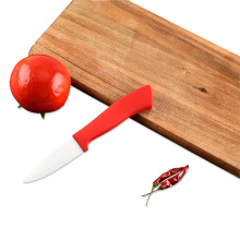 ABS Red Handle 3 Inches Ceramic Knife