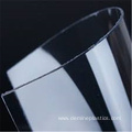 Clear thin polycarbonate film for screen printing