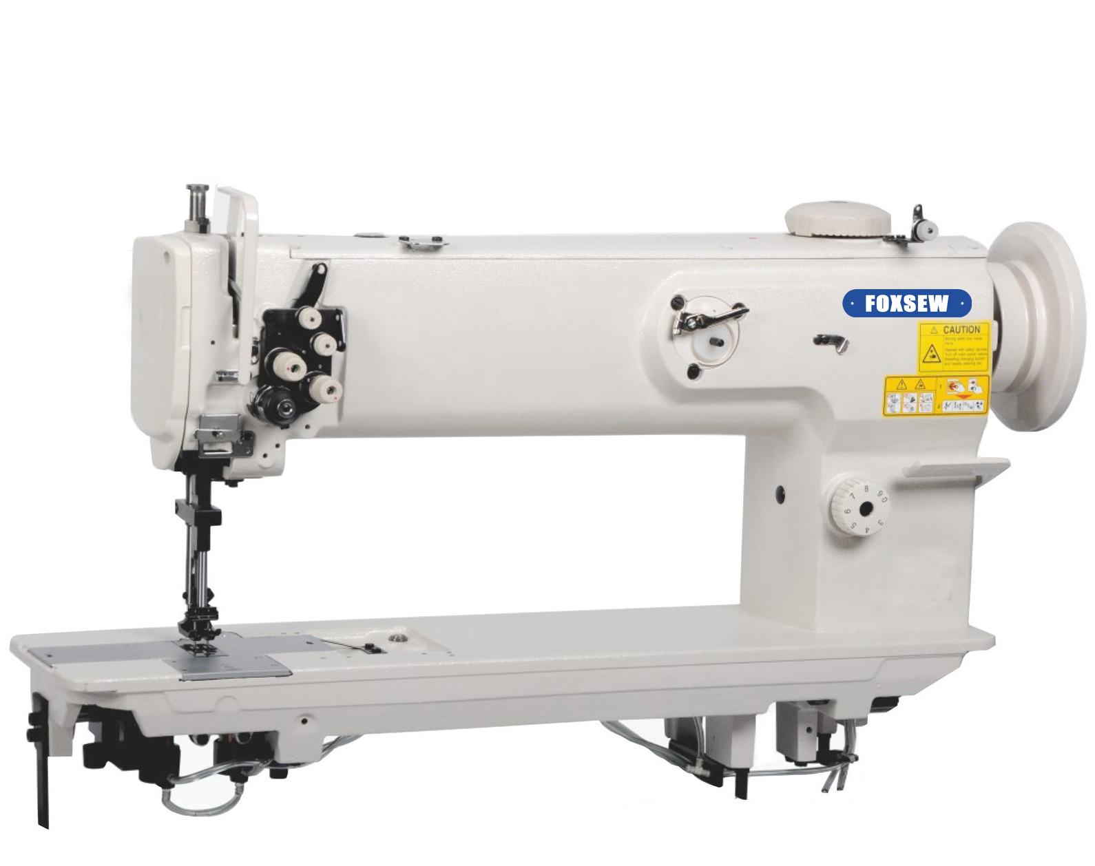 KD-1560N-L18 Long Arm Double Needle Compound Feed Heavy Duty Lockstitch Machine