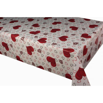 Polyvinyl Tablecloth with Tnt Backing