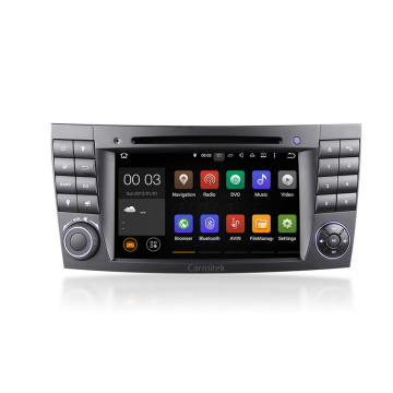 Android 2 din car stereo for Benz W211
