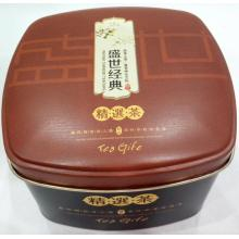 custom printed Tea package Tin Box