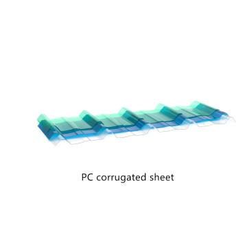 Excellent Load Capacity with Polycarbonate Corrugated Sheet