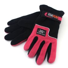 Double Layer  Proof Windproof Polar Fleece Gloves