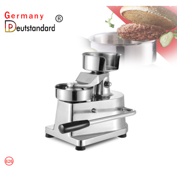 Manual burger press stainless steel burger press