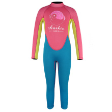Seaskin Girls Long Wetsuits with Back Zip
