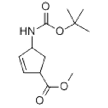 4-[[(1,1-DIMETHYLETHOXY)CARBONYL]AMINO]-2-CYCLOPENTENE-1-CARBOXYLIC ACID METHYL ESTER CAS 168683-02-1