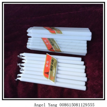 Nigeria Client purchase white candle bougies