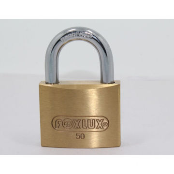 50mm Thick Brass Padlock Brass Cylinder
