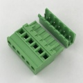 5.08MM pitch Vertical angle PCB pluggable terminal block