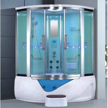 Fiberglass Steam Shower Whirlpool Bathtub