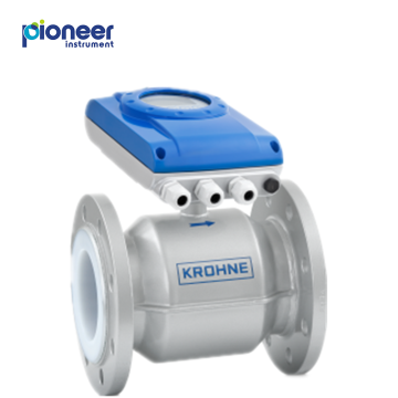 KROHNE electromagnetic flow meter for water
