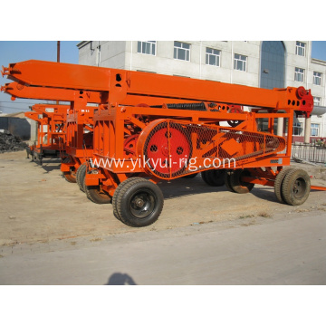 Portable YKCZ Percussion Water Well Drilling Rig