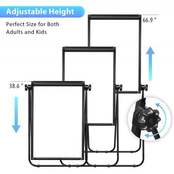 U stand Easel White Board Fold to Table
