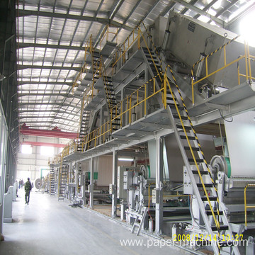 White Coated paper making machine coating paper machine