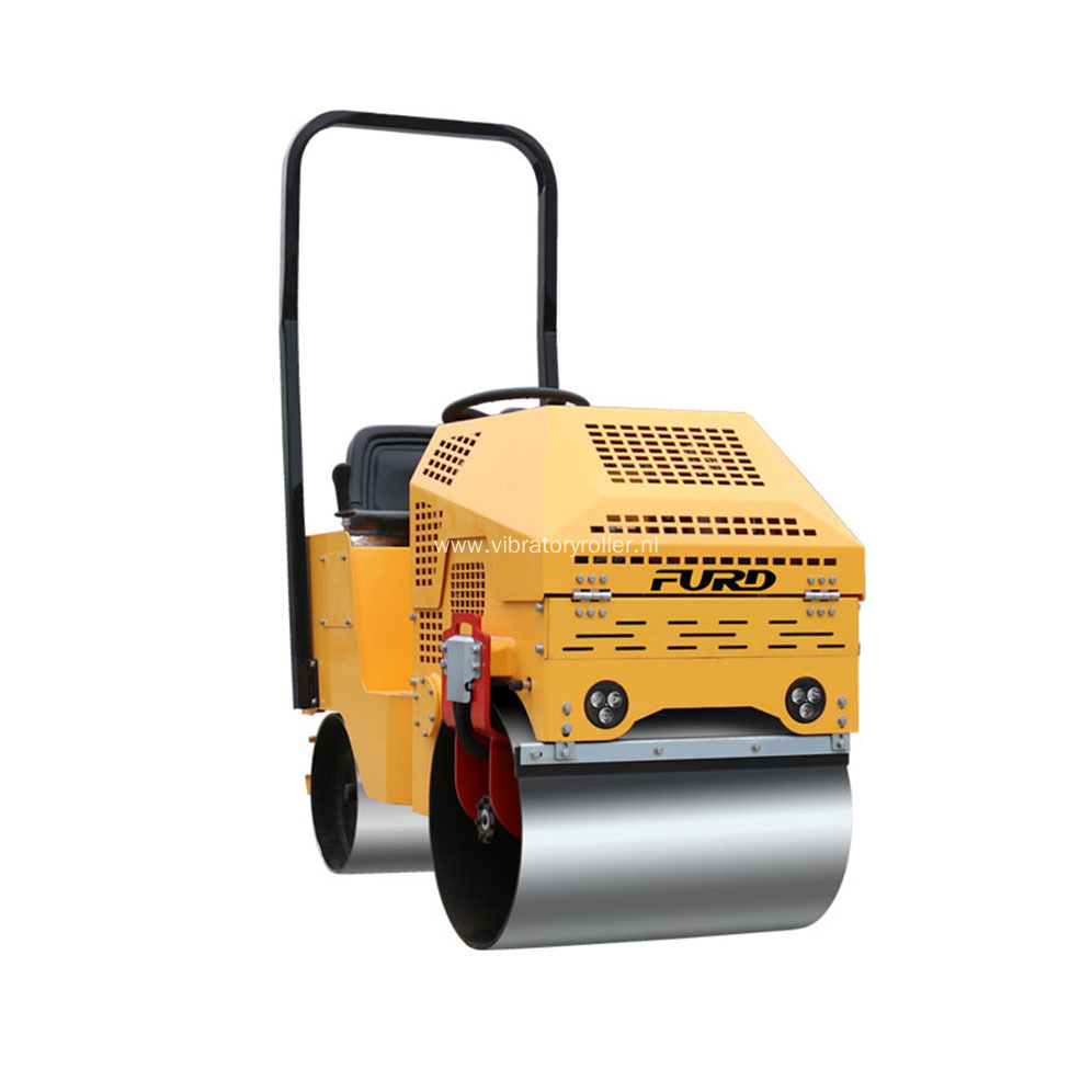 Mechanical New Design Double Steel Wheel Vibratory Roller
