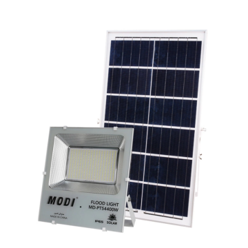 Solar flood light for outdoor road
