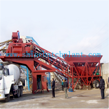Portable Concrete Batching Plant