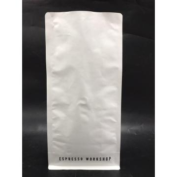 1KG White Kraft Paper Box Coffee Pouch