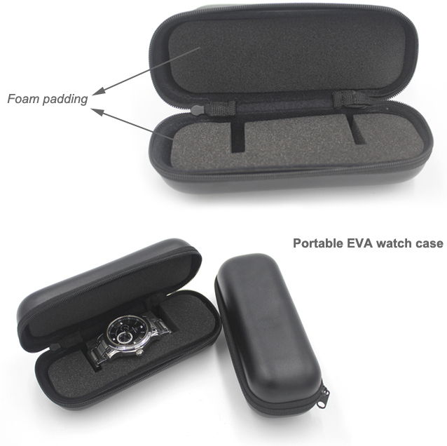 EVA watch travel case