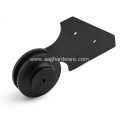Interior mini slidling barn door hardware kit roller