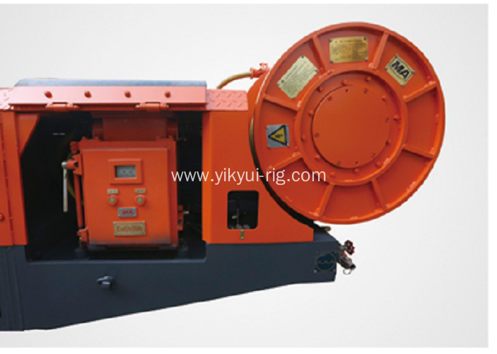 Crawler Type 75KW Rock Tunneling Project Rig