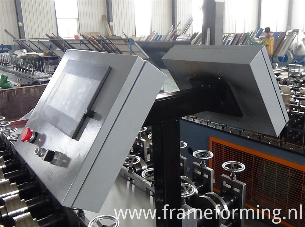 c channel rail making machine