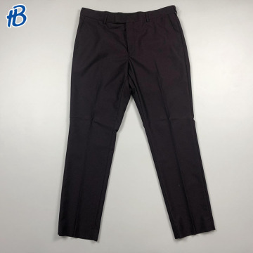 casual men dark purple party trousers