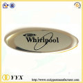 Decorative engraving metal alloy name plate