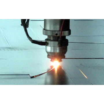 Laser Cutting Steel Plate
