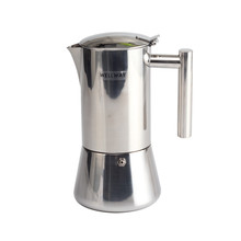 6 cups stainless steel coffee Moka Pot