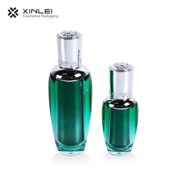 Luxury pump sprayer cosmetic  bottles