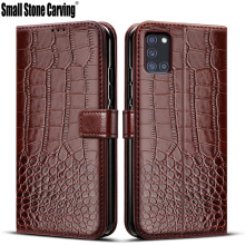 Flip Case For Samsung Galaxy A31 Case retro Leather Wallet Cover For Samsug A 31 Phone Bag Case Galaxy A31 Magnetic Book Cover