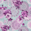 Spring Floral Pvc Vinyl Table Cloth