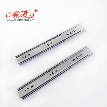 45mm Push To Open Drawer Touch Slide Rail