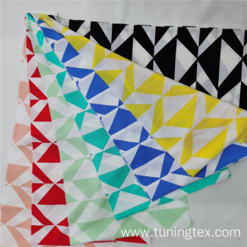 Four Way Spandex Geometric Print Fabric