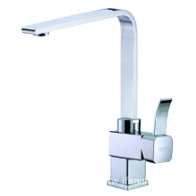 Best square kitchen sink brass faucet with swivel
