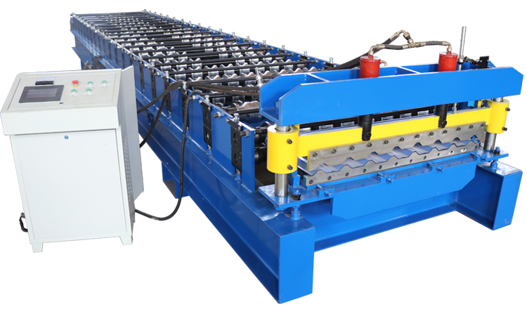 sheet ibr roofing machine