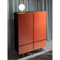 Lacquer cabinet with doors