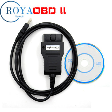 VAG K CAN Commander 3.6 for Au-di/V-W Diagnostic Tool cable OBDII OBD2 Cabel Code Readers Scan Tools with software