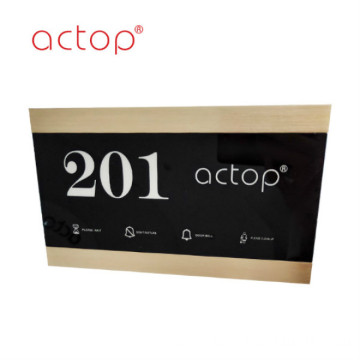 fashion smart hotel solution door number plates