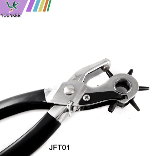 6 Size Hole Multi-function Revolving Punch Plier