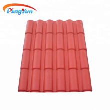 synthetic resin roof sheet/waterproof pvc roof