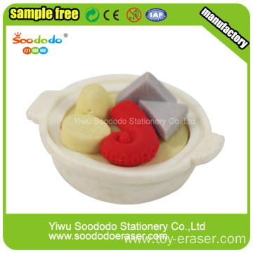 Seafood Noodles Shaped Eraser, eraser child stationery