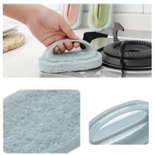Multifunctional Magic Sponge Brush Kitchen Stove Bathtub Sink Cleaning Brush Powerful Detergent Bath Brush Kitchenware