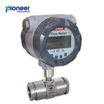 LWS Sanitary Type Liquid Turbine Flow Meter
