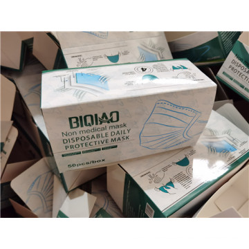 3ply Disposable PP Nonwoven Medical Face Mask