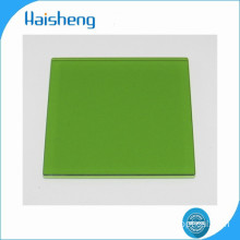 LB7 green optical glass filters
